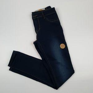 Dark Wash Skinny Jeans {American Blue}